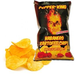 Chipsy Pepper King Habanero 125g