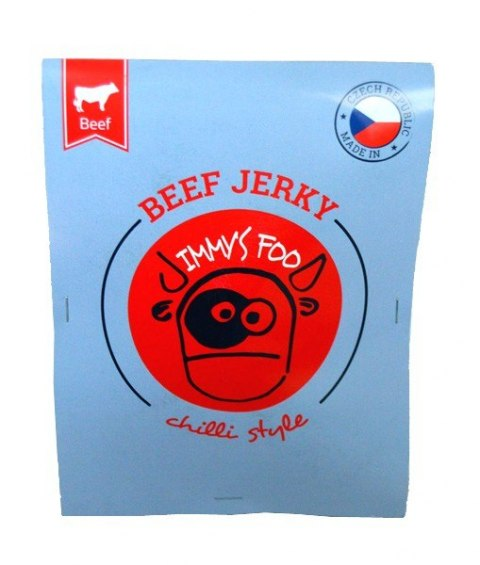 Jimmy's Food Beef Jerky chilli style 25g