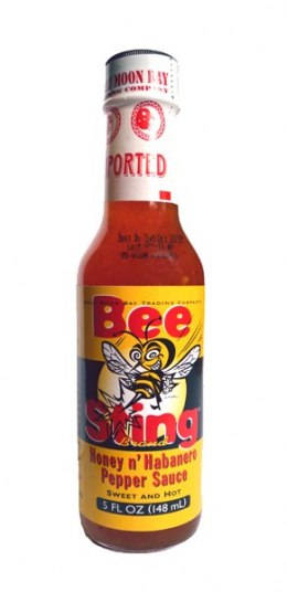 Sos Bee Sting Honey & Habanero 148ml