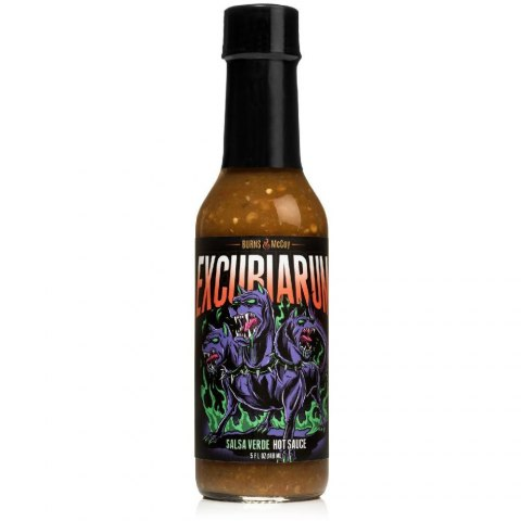 Sos Burns&McCoy Excubiarum z tomatillo 148ml