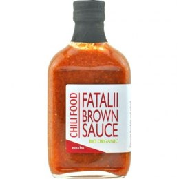 Sos Chili Food Fatalii Brown BIO Organic 185ml