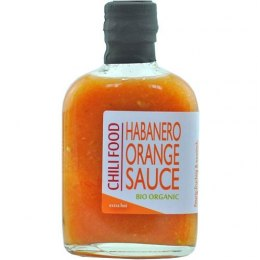 Sos Chili Food Habanero Orange BIO Organic 185ml