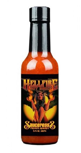 Sos Hellfire Sauceress Private Reserve 148ml