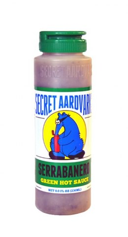Sos Secret Aardvark Serrabanero 236ml