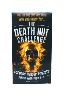 The Death Nut Challenge z Caroliną Reaper i Pepper X, 12g