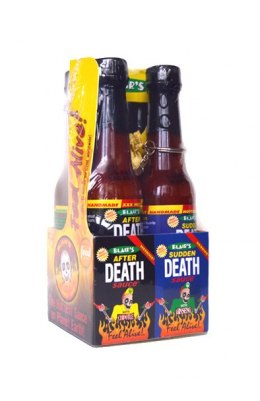 Zestaw MINI sosów Blair's Death Sauces 4 x 60ml