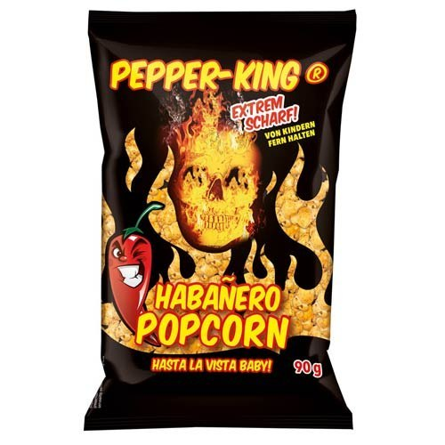 Ostry popcorn Pepper King z Habanero 90g