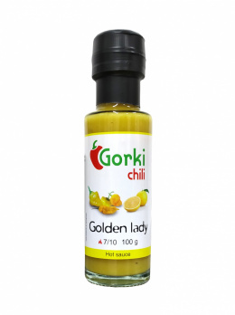 Sos Gorki Chili Golden Lady żółte superhoty i miód 100ml